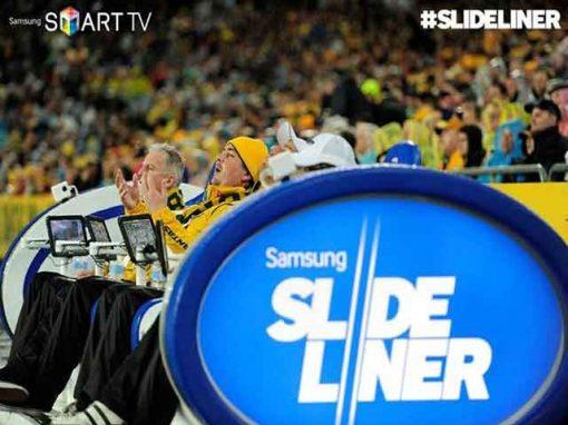 Samsung Slideliner – Bledisloe Cup