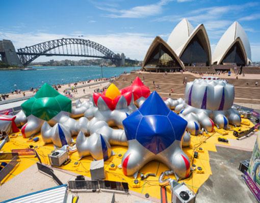 exopolis circus Sydney Opera House