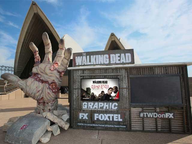 The Walking Dead Season Launch