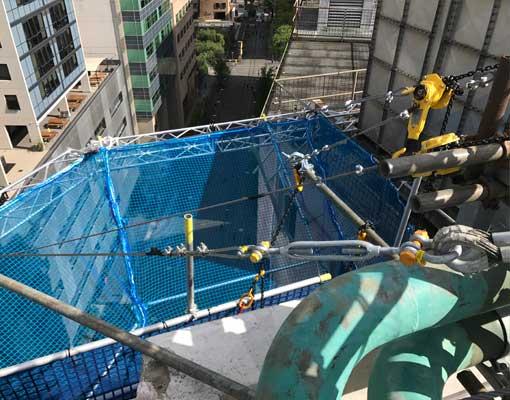 ara-tafe-truss-scaffolding-safety-net-rigging