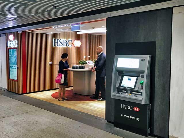 HSBC Wynyard Fitout