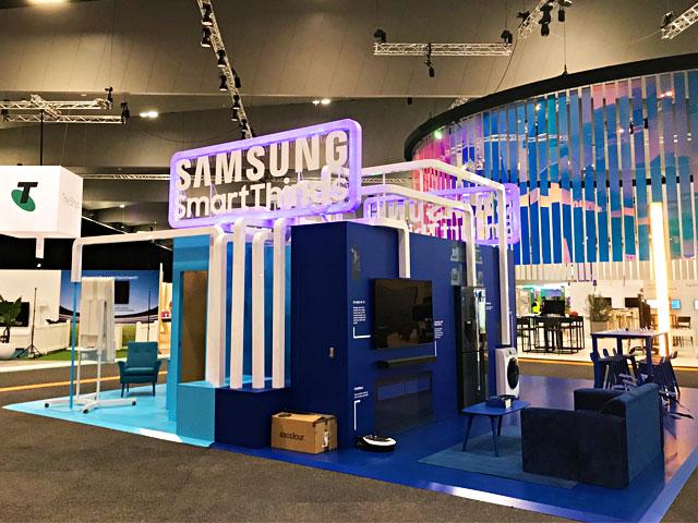 Samsung at Telstra Vantage